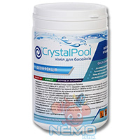 Фото 2 - Хлор шок CRYSTAL POOL Quick Chlorine Tablets 1кг (таблетки 20г)