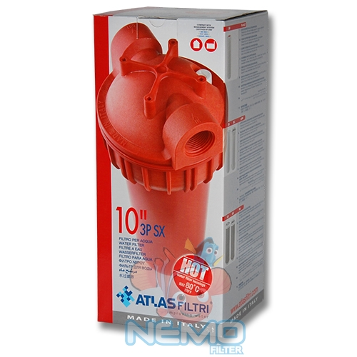 Упаковка фильтра для горячей воды ATLAS Senior Plus HOT 3P-AFP SX 3/4