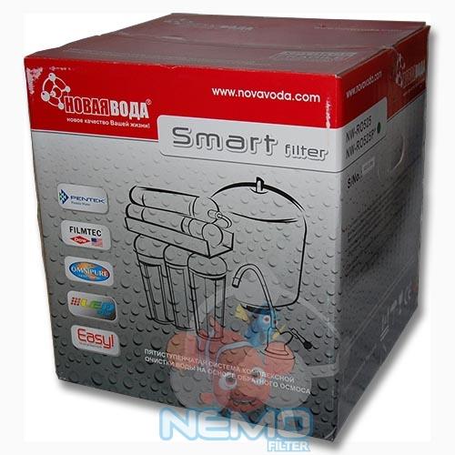 Упаковка Фильтра обратного осмоса НОВАЯ ВОДА NW-RO525P smart