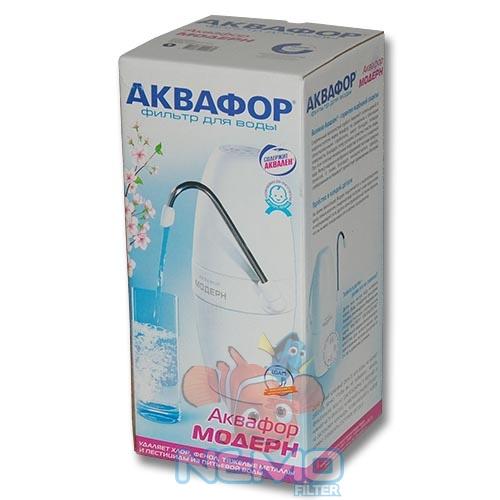 Упаковка Фильтра рядом с мойкой АКВАФОР Модерн 1