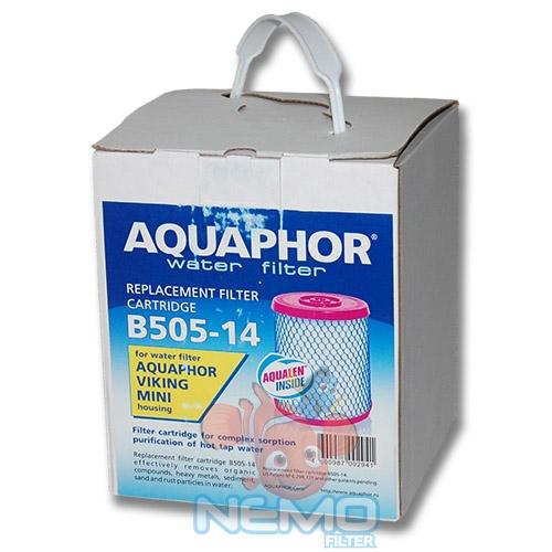 Упаковка картриджа B505-14 АКВАФОР Викинг Мини (горячая вода)