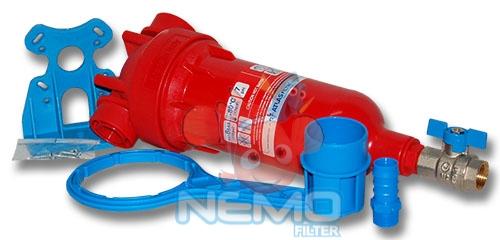Комплектация фильтра промывного ATLAS Hydra Hot 1/2 RAH 90 микрон