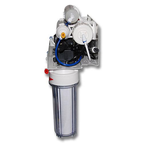 Фильтр обратного осмоса CRYSTAL CFRO-550MP вид сбоку