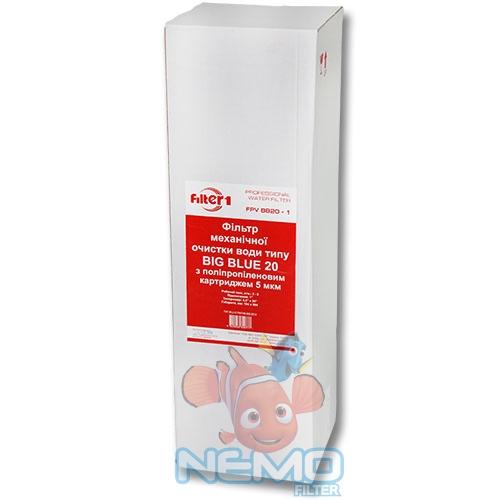 Упаковка магистрального фильтра Вig Вlue 20 FILTER1 FPV4520F1
