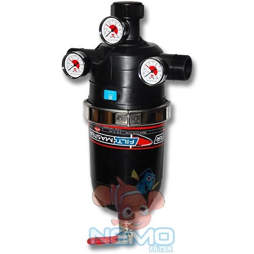 Дисковый фильтр JimTen в сборе с манометрами и спускным краном