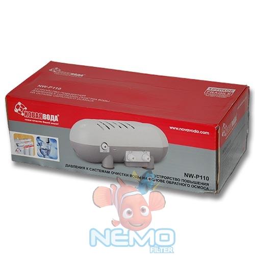 Упаковка Помпы в корпусе НОВАЯ ВОДА NW-P110 для фильтра ОС