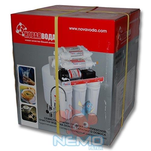 Упаковка Фильтра обратного осмоса НОВАЯ ВОДА NW-RO702P