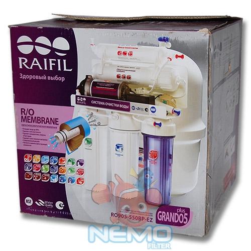 Упаковка Фильтра обратного осмоса RAIFIL  RO-550P GRANDO 5+