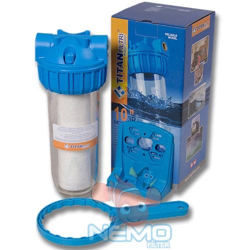 Комплектация фильтра для холодной воды TITAN 3P10