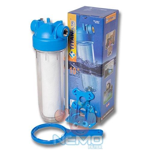 Комплектация фильтра для холодной воды TITAN DP10