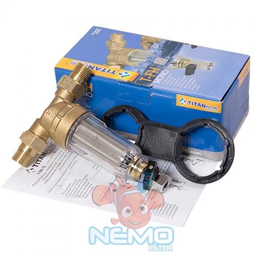 Фильтр промывной TITAN T-FH 1/2 cold